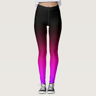 Pink/Fuschia Gradient Leggings