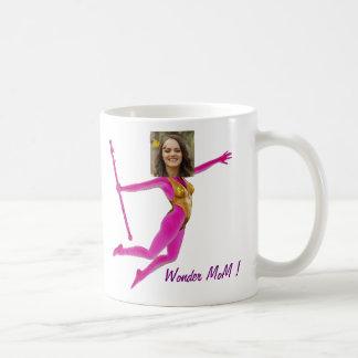 Pink Fushia Wonder Woman, Fairy Wand - Coffee Mug