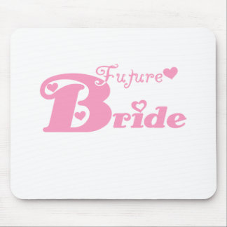 Pink Future Bride Mouse Pad