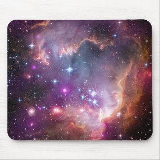 Pink Galaxy Nebula Universe Supernova Stars Night Mousepad