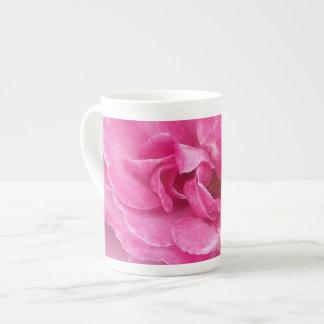 Pink Garden Rose Bone China Mug