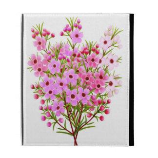 Pink Garden Waxflower Bouquet iPad Case