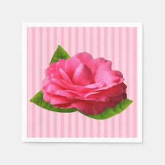 Pink Gardenia Disposable Serviette