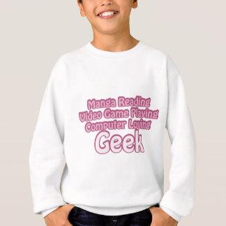 Pink Geek Sweatshirt