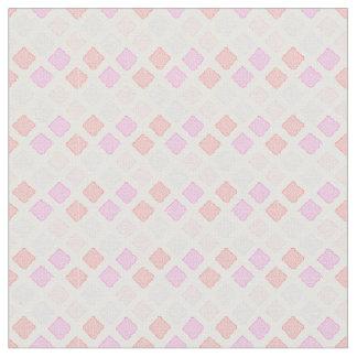 Pink geometric pattern fabric Part 1