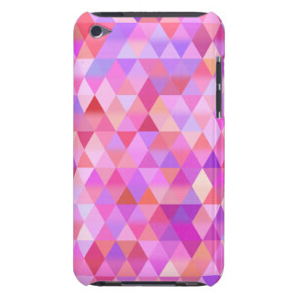 Pink Geometric Triangle iPod Touch Case