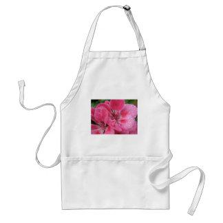 Pink Geranium Petals Standard Apron