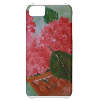 Pink Geraniums IPhone Case