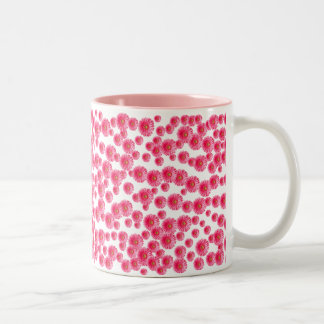 Pink Gerber Daisies Mug
