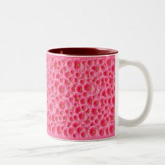 Pink Gerber Daisies Mugs