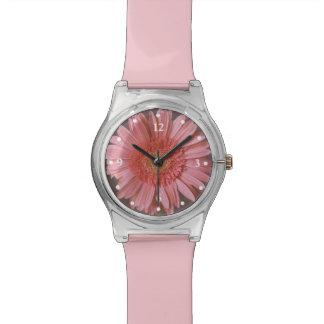 Pink Gerber Daisy Watch