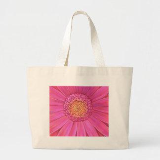 Pink Gerber Flower Painting - Multi Tote Bags