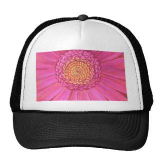 Pink Gerber Flower Painting - Multi Mesh Hat