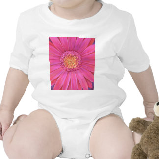 Pink Gerber Flower Painting - Multi T Shirts