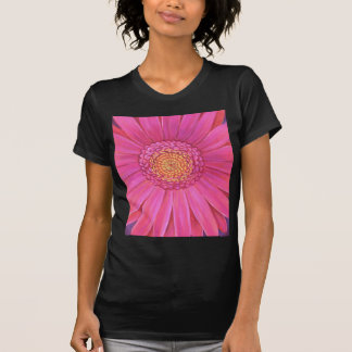 Pink Gerber Flower Painting - Multi T-shirts