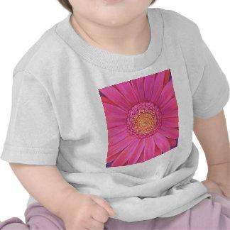 Pink Gerber Flower Painting - Multi Tee Shirts
