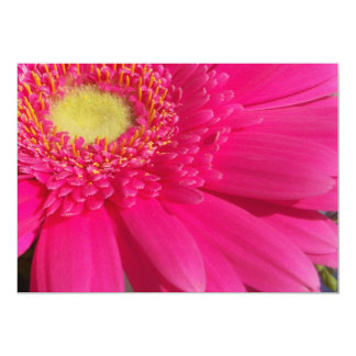 Pink Gerber Invitation / Announcement