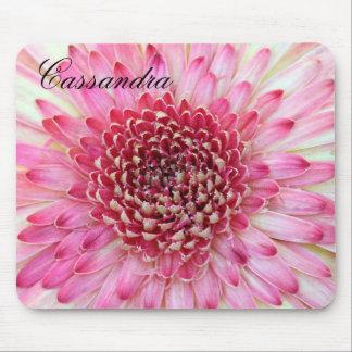 Pink Gerbera Close up Mouse Mat