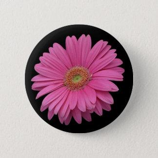 Pink Gerbera Daisy 6 Cm Round Badge