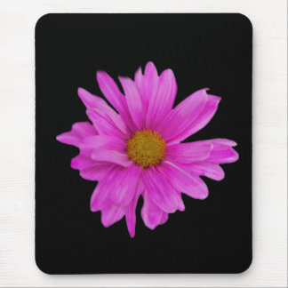 Pink Gerbera Daisy Flower Customizable Mouse Mat