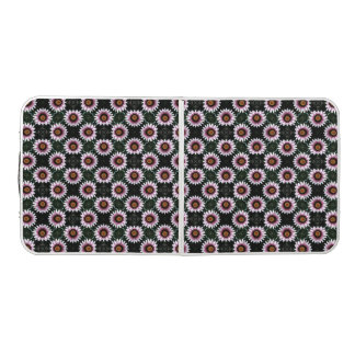 Pink Gerbera Daisy Flower Pattern Beer Pong Table