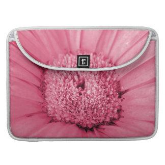 Pink Gerbera Daisy MacBook Pro Sleeve
