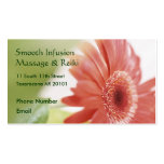 Pink Gerbera Daisy Pack Of Standard Business Cards