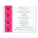 Pink Gerbera Daisy Vow Renewal Invitation