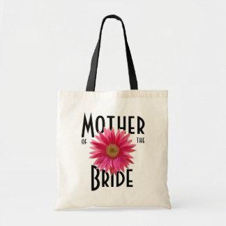 Pink Gerbera Daisy/ Wedding Tote Bags