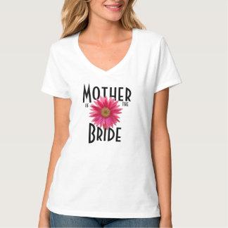 Pink Gerbera Daisy/ Wedding T-Shirt