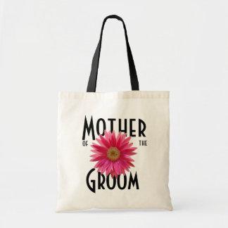 Pink Gerbera Daisy/ Wedding Budget Tote Bag