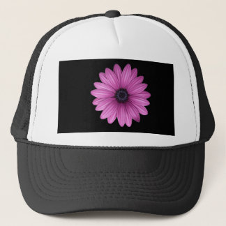 Pink Gerbera flower Trucker Hat