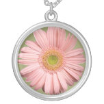 Pink Gerbera Necklace
