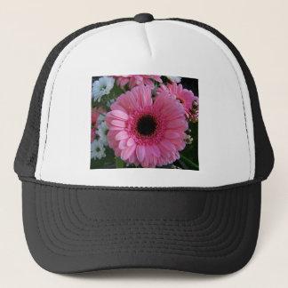 Pink Gerbera Trucker Hat