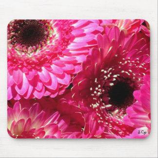 Pink Gerberas Mouse Mat