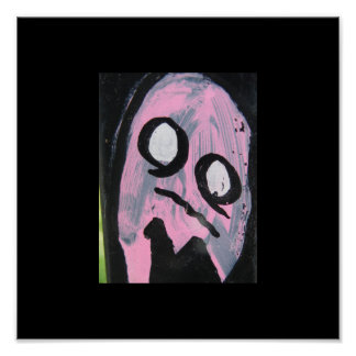 Pink ghost posters
