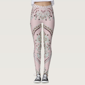 Pink Gibson Leggings