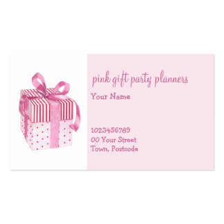 Pink GIft Business Card