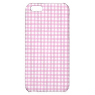 Pink Gingham iPhone Case iPhone 5C Cover