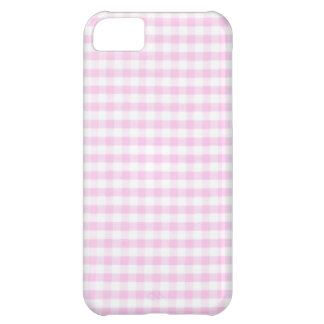 Pink Gingham Pattern iPhone 5C Case