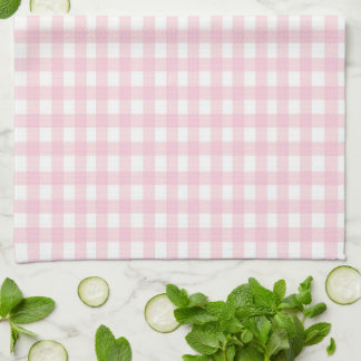 Pink Gingham Towels