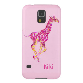 pink giraffe case for galaxy s5