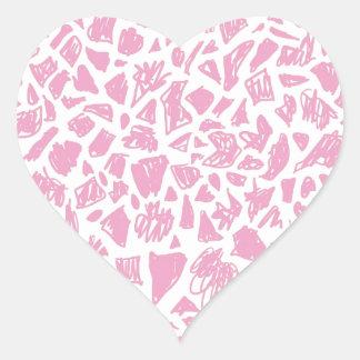 Pink Giraffe Sticker
