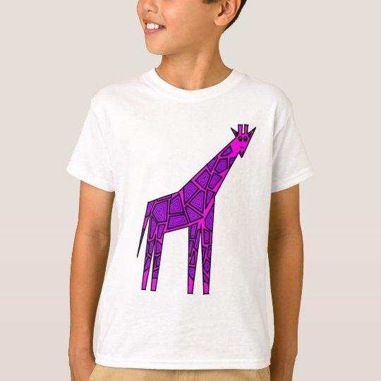 Pink giraffe T-Shirt