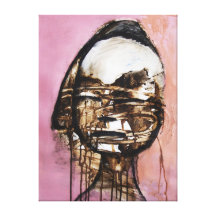 Pink Girl Canvas Prints