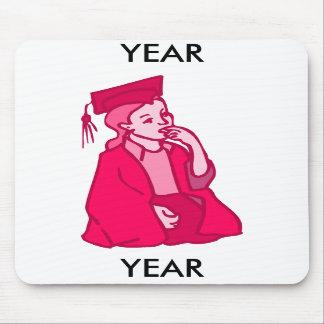 Pink Girl Grad Mousepad