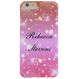 Pink Glamour Barely There iPhone 6 Plus Case