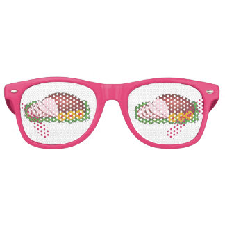 Pink Glazed Ham Easter Christmas Party Favor Retro Sunglasses