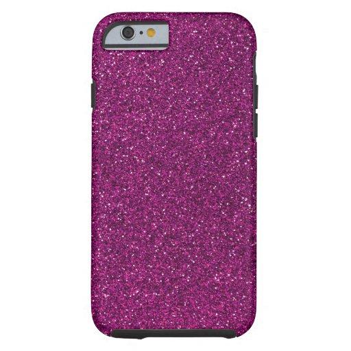 Pink Glitter iPhone 6 Case