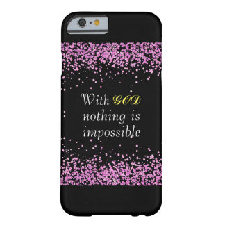 Pink Glitter Christian Phone Case